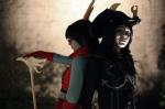 amaradonis ancestors antagonisting apprivoise back_to_back cosplay dragon_staff marquise_spinneret_mindfang neophyte_redglare real_life