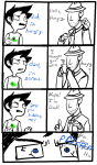 comic dad highlight_color john_egbert pixel pungoeshere punstuck starter_outfit