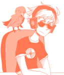 crows dave_strider headphones monochrome red_record_tee solo source_needed sourcing_attempted starter_outfit