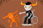 imp pixel solo tavros_nitram thegreenspark underlings wheelchair