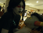 blood cosplay decapitation raynarose real_life tavros_nitram terezi_pyrope