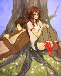 au flowers gamzee_makara humanized juggalovania puddingpie redrom shipping sleeping trees vriska_serket