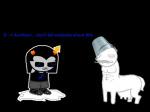 aurthour bucket equius_zahhak image_manipulation lolbucket69 lusus milk sprite_mode wut