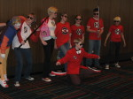 cosplay dave_strider katana lil_cal real_life red_baseball_tee red_plush_puppet_tux red_record_tee source_needed sourcing_attempted starter_outfit timetables