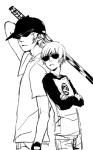 bro dave_strider erotatsu grayscale red_baseball_tee unbreakable_katana