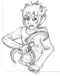 grayscale homes_smell_ya_later karkat_vantas sketch solo twirynienne