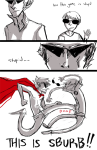 300 bro comic crossover dave_strider highlight_color starter_outfit wetdogsmell