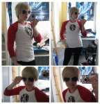 cosplay dave_strider ktysh real_life red_baseball_tee solo tron