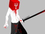 blood crossover dirk_strider silent_hill solo tebia