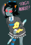 codpiecequeen crossover gainax lemonsnout panty_and_stocking scalemates solo terezi_pyrope