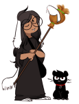 animalstuck au broom cats crows dave_strider dogtail dogtier jade_harley karkat_vantas koalanurples medieval