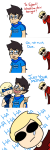 breath_aspect breathalyzer comic cosmicmarsupial crying dave_strider godtier heir john_egbert knight perfectly_generic_object redrom rogue roxy_lalonde shipping void_aspect