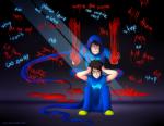 blood breath_aspect feshnie godtier heir john_egbert psychojohn