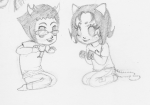 lemon_lime nepeta_leijon no_hat shipping sketch sollux_captor vivaciouspockets