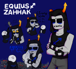 blush equius_zahhak fish_and_ice mspa_reader robot sweat
