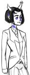 centaurschesticle equius_zahhak fashion no_glasses solo suit