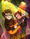 dammek fake_horns hiveswap instrument joey_claire linde-enge microphone xefros_tritoh