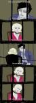 breathalyzer comic crossover john_egbert parody roxy_lalonde silent_hill steelcorridor