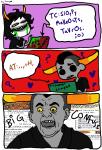 :o) ? comic computer gamzee_makara heart parqulesparkle pbj redrom shipping sopor_slime tavros_nitram wut
