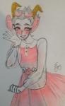 blush fashion formal foxnezze02 hiveswap marsti_houtek solo
