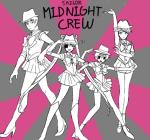 cd clubs_deuce crossdressing crossover dd diamonds_droog hb hearts_boxcars humanized jack_noir midnight_crew sailor_moon spades_slick tls