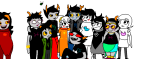 aradia_megido arm_around_shoulder blackrom blue_rose blush dancestors dogtier dream_ghost feferi_peixes girls godtier hair_braid_sirens heecawroo jade_harley jane_crocker kanaya_maryam light_aspect maid make_her_pay meenah_peixes muffintop multishipping nepeta_leijon no_hat peixeses redrom rose_lalonde roxy_lalonde schrödinger scourge_sisters seer serenity shipping shot_of_vrisky space_aspect spade spider8each spidermoth spiderwitch terezi_pyrope time_aspect vriska_serket witch