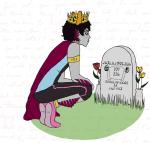 au bloodswap crown ellie_goulding freckles friendermen jewelry karkat_vantas language:alternian lyricstuck solo