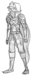 crossover grayscale hanna-cepeda roxy_lalonde sketch solo world_of_warcraft
