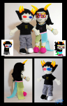 crafts eyes5 feferi_peixes no_glasses plushie real_life sollux_captor