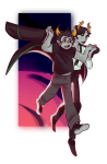 blush crossover hiveswap holding_hands howl's_moving_castle lanque_bombyx shipping stars studio_ghibli transparent wikszyk xefros_tritoh