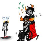 amber fashionabull heart kanaya_maryam redrom shipping tavros_nitram vriska_serket wheelchair