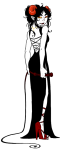 aradia_megido au back_angle crossover fashion james_bond solo syblatortue whip