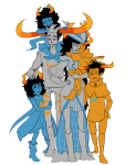 ancestors aranea_serket breath_aspect carrying crying dancestors godtier hug light_aspect limited_palette marquise_spinneret_mindfang nitrams redrom rogue rufioh_nitram serkets shipping summoning_the_8ooty sylph tavros_nitram the_summoner vriska_serket weissrabbit