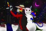alternia aradia_megido equius_zahhak green_moon nepeta_leijon pink_moon wigmund winter