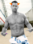 crossover deleted_source image_manipulation jersey_shore moved_source no_shirt ombrophilia solo swimsuit this_is_stupid trollified zodiac_symbol