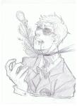 blood dave_strider decapitation felt_duds grayscale headshot huge sketch solo susan-kim