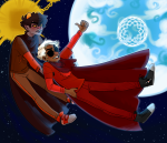 blood_aspect dave_strider egosweetheart godtier karkat_vantas knight prospit red_knight_district redrom shipping skaia stars time_aspect