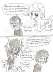 comic crossover dan_vs gamzee_makara grayscale karkat_vantas my_little_pony pineapplejoey source_needed sourcing_attempted