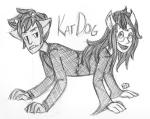 broken_source catdog crossover dogtier grayscale jade_harley karkat_vantas ohgodwhat sketch swagassdiamonds