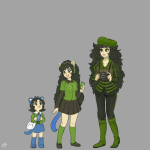 ancestors aquariumstuck au camera dancestors headphones humanized leijons meulin_leijon nepeta_leijon salihombox the_disciple