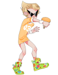 codpiecequeen dirk_strider pixel solo sports transparent