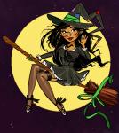 broom halloweenstuck jade_harley midair sircuddlebuns solo witch