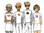 dave_strider dirk_strider height_chart mrharrisonford red_baseball_tee rose_lalonde roxy_lalonde starter_outfit strilondes