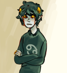 crying karkat_vantas partyroxy solo