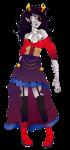 artificial_limb body_modification dream_ghost fashion formal mcwendys solo transparent vriska_serket
