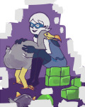 animals godtier hug morganida perfectly_generic_object rogue roxy_lalonde solo void_aspect