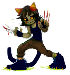 blood claw_gloves nepeta_leijon no_hat private_source solo yt