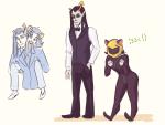 ! carrying cosplay durarara!! equius_zahhak meowrails nepeta_leijon no_glasses no_hat suit wizardbones