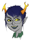 alternate_hair artist-in-training headshot solo vriska_serket