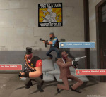 3d ace_dick candy_corn_handgun crossover pez_uzi pickle_inspector pose_as_a_team problem_sleuth problem_sleuth_(adventure) team_fortress_2 tootsie_roll_shotgun